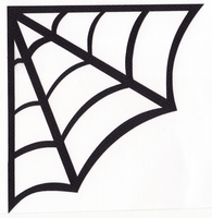 195x200 Spider Web Outline