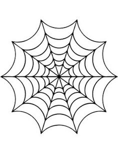photograph regarding Spider Web Printable identified as Spider Internet Define Free of charge down load ideal Spider World-wide-web Determine