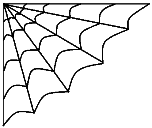 496x418 Clipart Graphics Of Spiders And Their Webs
