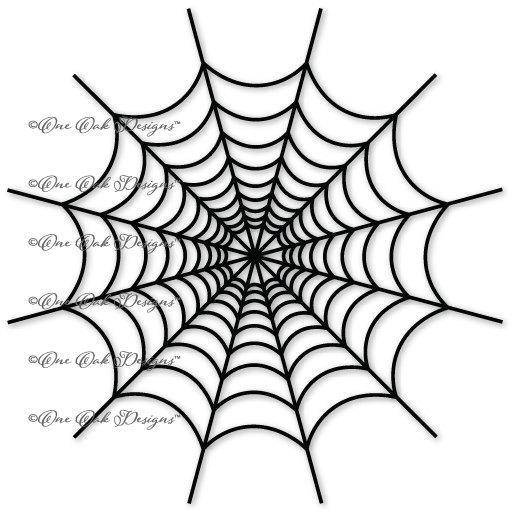 515x515 Halloween Spider Web Svg File Dxf Pdf Eps Ai Jpg Png