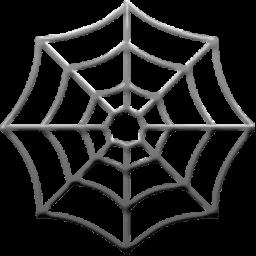 256x256 Spider Web Emoji For Facebook, Email Amp Sms Id  308 Emoji.co.uk