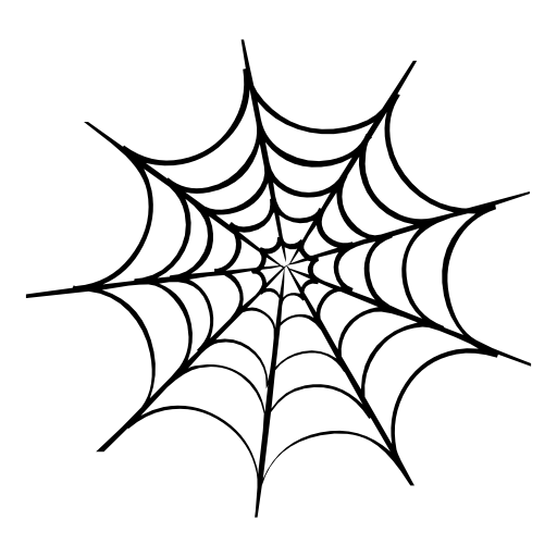 512x512 A Spider's Web Royalty Free Stock Png Images For Your Design