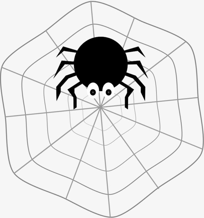 650x697 Black Spider Web, Cobweb, Spider, Black Spider Png Image For Free