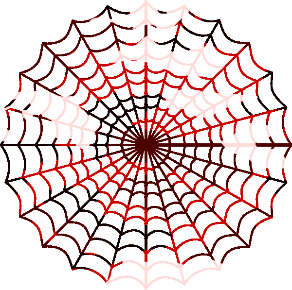 600x597 Camouflage Red Spiders Web Free Images