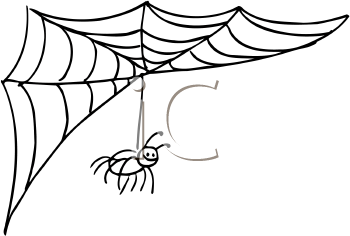 350x236 Spider Web Clipart Animated
