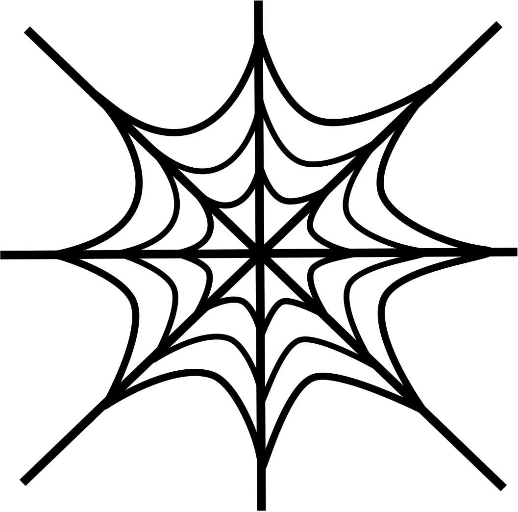 1057x1044 Clip Art Spider Web Clipart