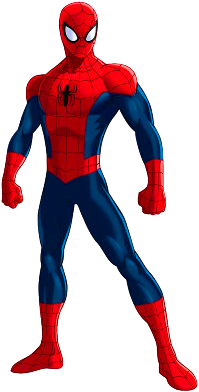 637x1255 Spider Man Clip Art All Body Png