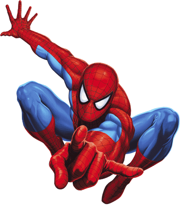369x421 Spider Man Clipart