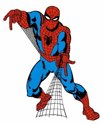 397x480 Spider Man Clipart Comic Book