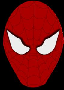 213x300 Spiderman Face Clip Art