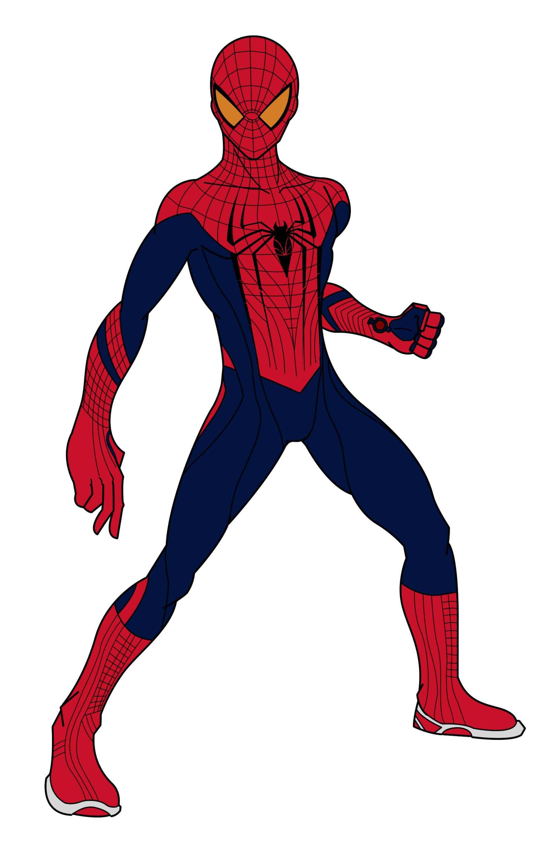 1726x2703 Clip Art Spider Man Movie Clipart