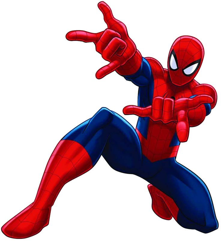 736x802 Spiderman Clipart Main Character