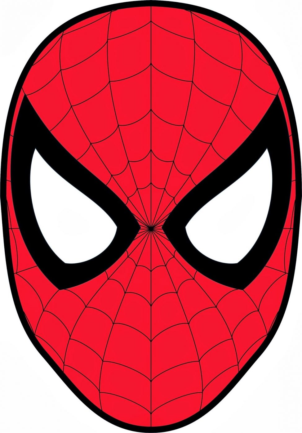 974x1396 Coloring Pages Spiderman Cartoon Face Coloring Pages Spiderman