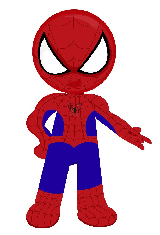 Spiderman baby image.
