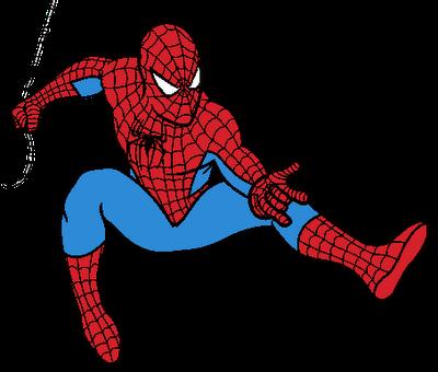 400x340 Clipart Free Man Spider