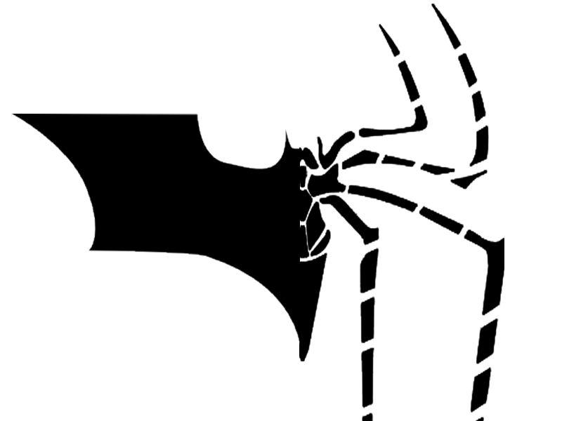 800x600 Spider Man Batman Logo Fusion By Thelastgallant