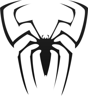 366x400 Spiderman Logo Spiderman Symbol 23452wall.jpg Ideias De
