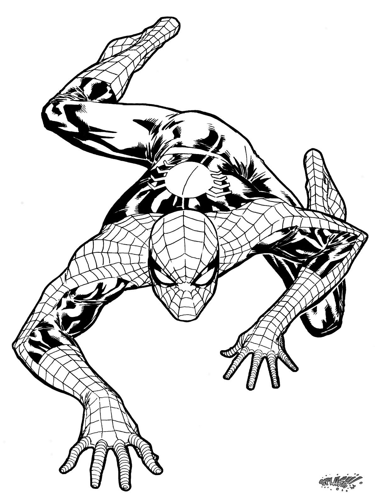 1211x1600 Spiderman Clipart Crawl