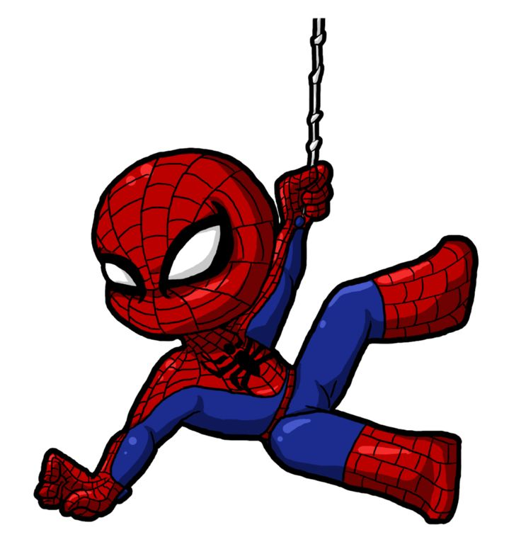 736x782 Animated Spiderman Clipart