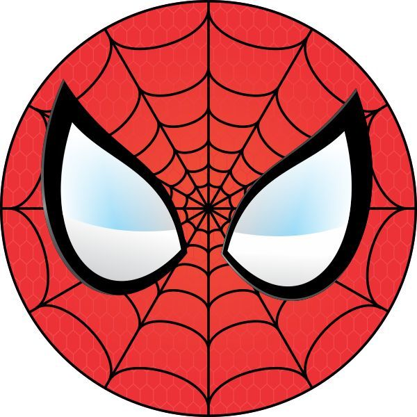 600x600 Spiderman Clipart Heart