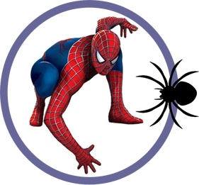 281x261 Spiderman Clipart Letter