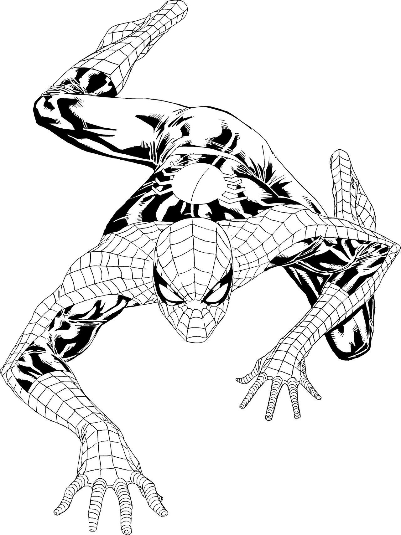 1280x1709 Free Printable Spiderman Coloring Pages For Kids
