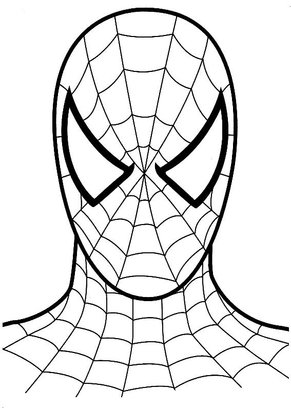 Spiderman coloring. Pages free download best