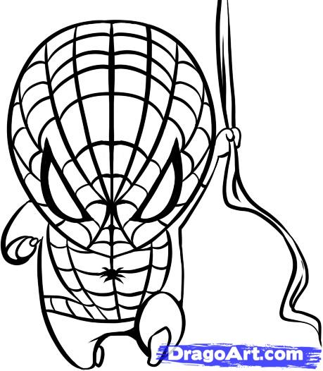 Spiderman Coloring Pages | Free download best Spiderman Coloring ...