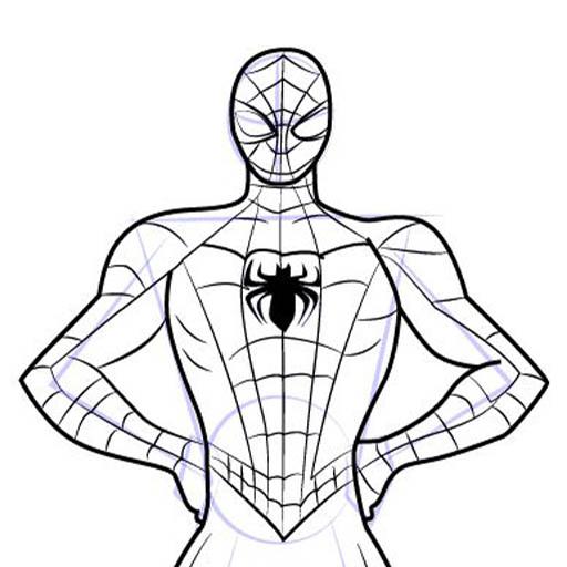 512x512 How To Draw Spiderman Ez 1.0 Apk Androidappsapk.co