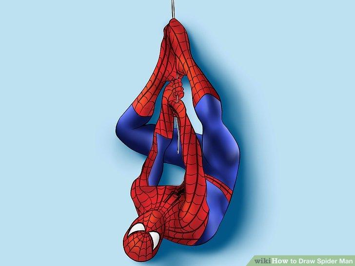 728x546 4 Ways To Draw Spider Man
