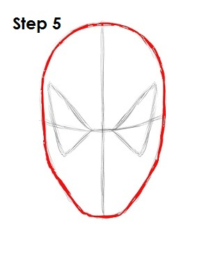 300x388 How To Draw Spider Man