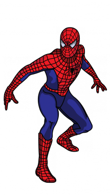 215x382 How To Draw Spiderman, Easy Step By Step Drawing Tutorial