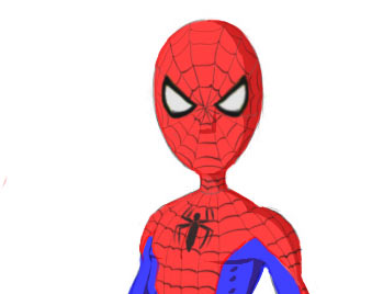 Spiderman Drawing Easy Free Download Best Spiderman Drawing Easy