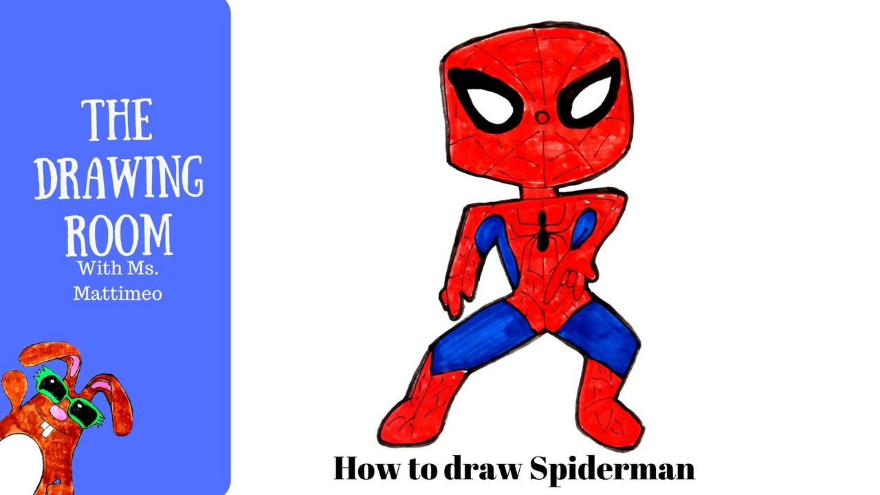 1280x720 How To Draw Spiderman