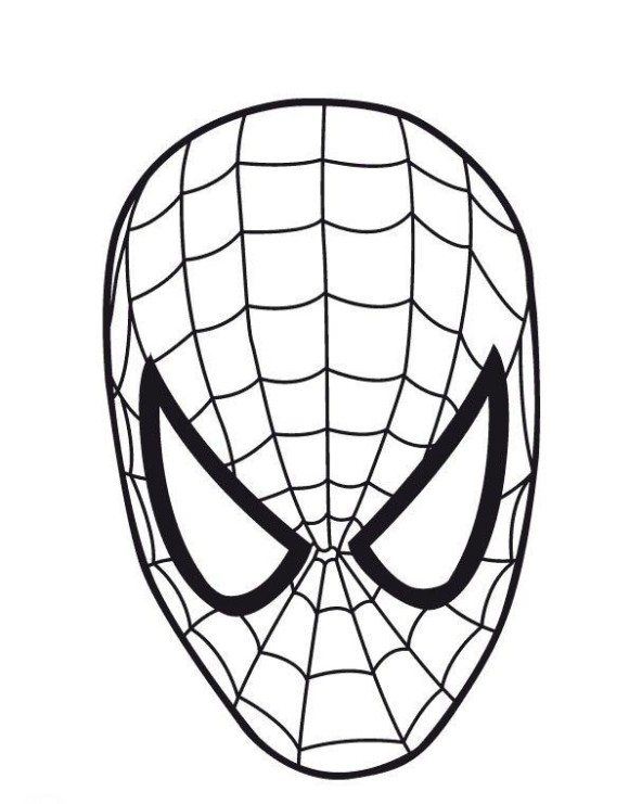 580x741 Spider Man Coloring Page Easy Spiderman Coloring Pages. Ultimate