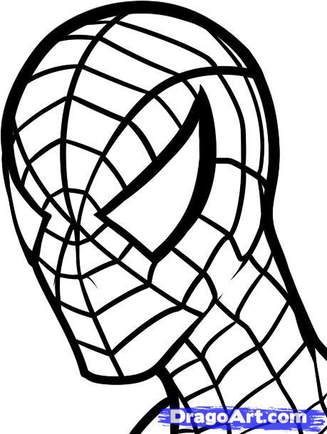 459x610 Easy Superhero Drawings