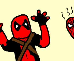 300x250 Deadpool. (Beware Spider Man.)