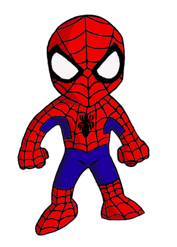 359x500 Drawing Clipart Spiderman