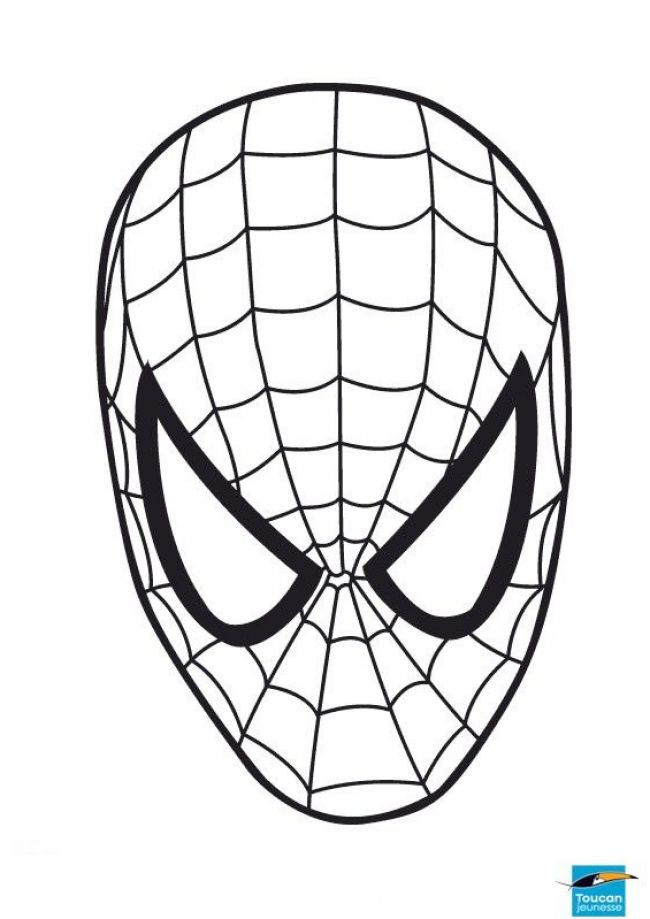 650x919 Face Clipart Spiderman