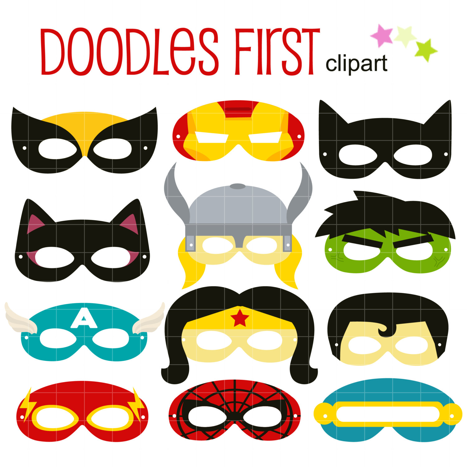 1500x1500 Girl Wearing Mask Spiderman Clipart, Explore Pictures