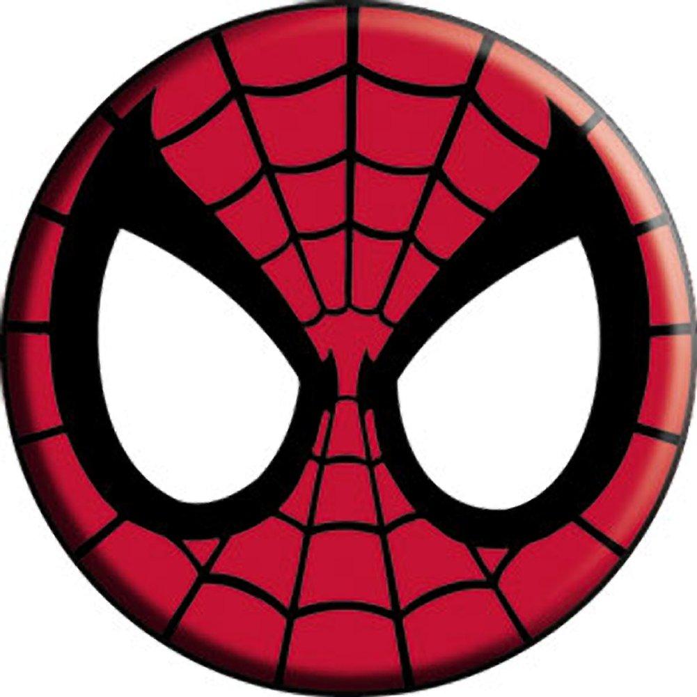 1001x1001 Spider Man Mask Button