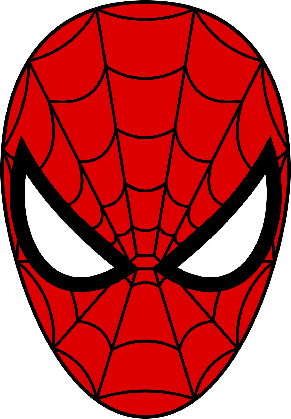 1114x1600 Spider Man Mask From Cardboard Templates