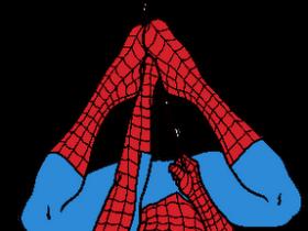 280x210 Spider Man Clipart Red Spider