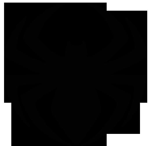 521x506 Spider Clipart Spiderman Logo