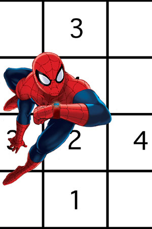 300x450 Ultimate Spider Man Word Search Spider Man Activities Marvel Hq