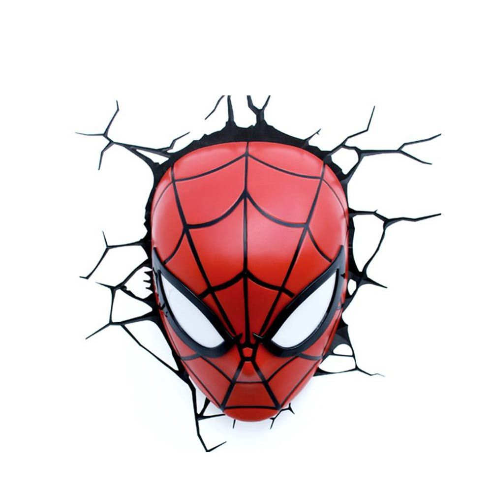 1000x1000 Spiderman Face 3d Deco Light
