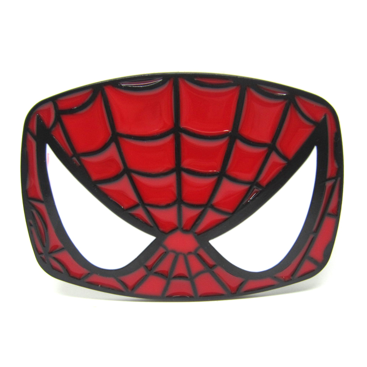 750x750 Spiderman Face Belt Buckle In Buckles Amp Hooks From Home Amp Garden