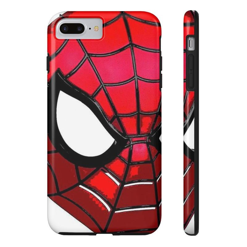 800x800 Spiderman Face Mask Art Phone Case Cover For Iphone Or Samsung