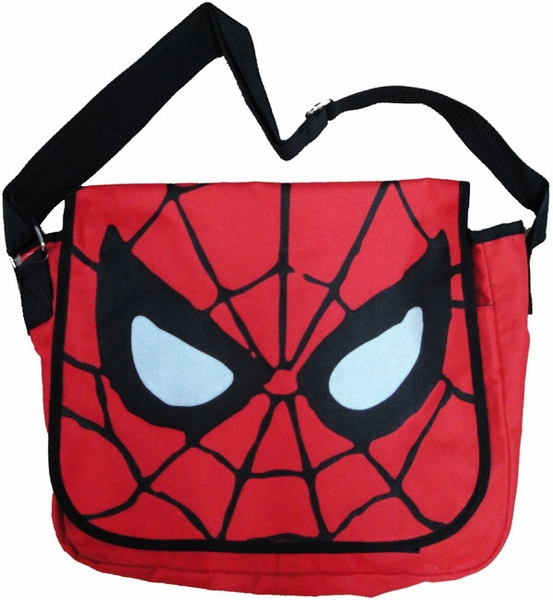 553x600 Spiderman Face Messenger Bag