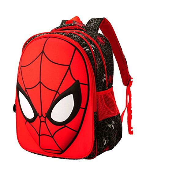 562x562 Kids Boys Backpack Elementary School Book Bag Red